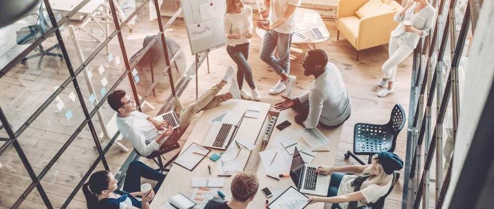 Hoe werkt social distancing bij u op kantoor?